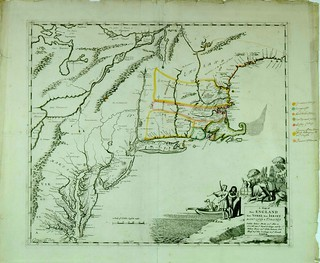 A map of New England, New York, New Iersey, Mary-Land & Virginia | by uconnlibrariesmagic
