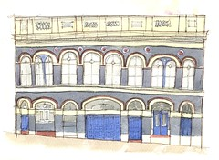 Old Prison, Jewellery Quarter, Birmingham by timillustrator