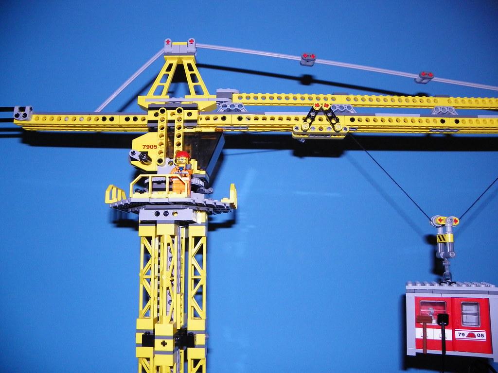 Lego Tower Crane Lego 7905 Building Crane