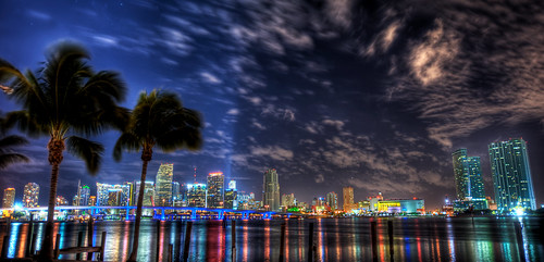 Miami Skyline | by MDSimages.com