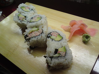 Rice & Fish: California roll | by clotilde