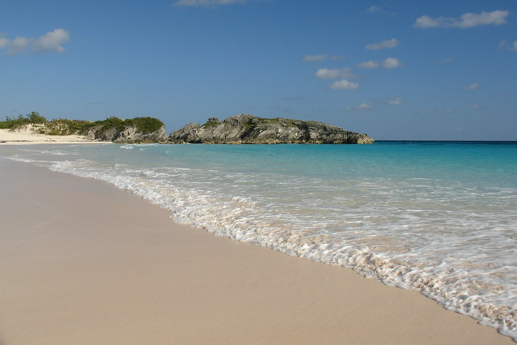 Bermuda. Horseshoe Beach.