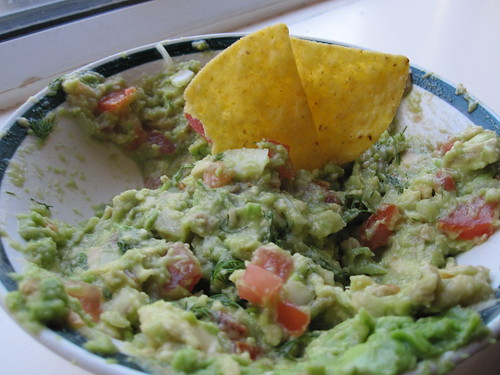 Homemade Guacamole with Dill | by veganbackpacker