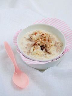 Vanilla rice pudding with Port syrup / Arroz doce com baunilha e caldinha de Porto | by Patricia Scarpin