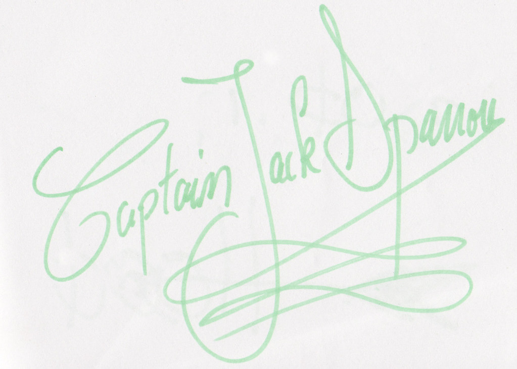 Disney Princess Autographs