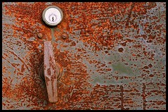 Rusted door by Somak Ray