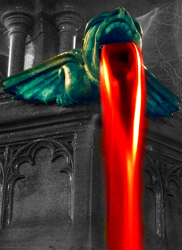 Fire Breathing Gargoyle | by gifster1983