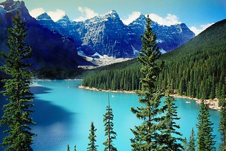 The Rockies ..  Canada .. Moraine Lake | by Nick Kenrick.