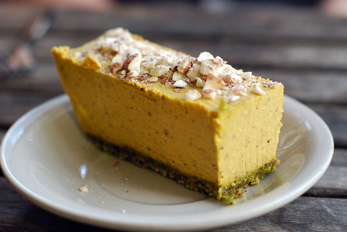 Ecopolitan Raw Pumpkin Pie | by swellvegan