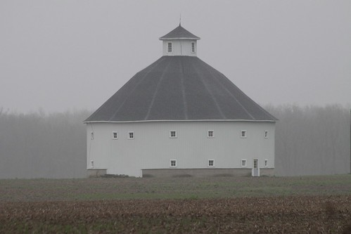 Delaware County Round Barn | by beccafromportland