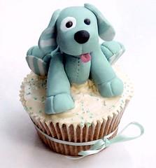 Minty Puppy Cuppie by Sugarbloom Bev