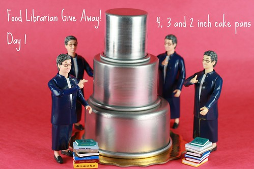 Food Librarian - 3 Tier Cake Set Giveaway | by Food Librarian