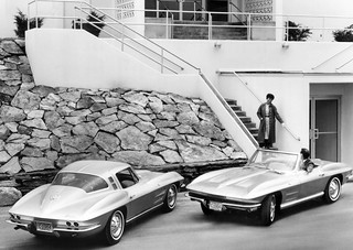 1964 Chevrolet Corvette Coupe and Roadster | by coconv