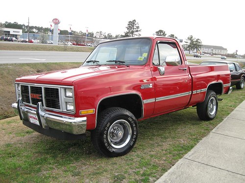 1987 Gmc 4x4 High Sierra Pickup
