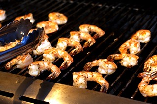 grilling jumbo shrimp | by smitten kitchen