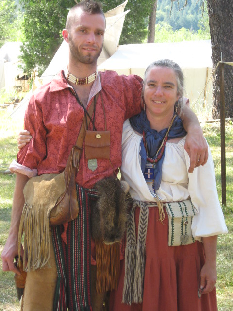 Showing My Weaving At Pacific Primitive Rendezvous 2009