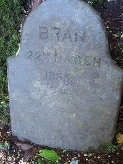 Bran's grave by Rosemary Rudd