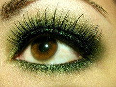 St. Paddy's Day Smoky Green Eyeshadow Closeup | by kuuipo1207