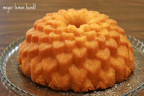 Meyer Lemon Bundt - I Like Big Bundts | by Food Librarian