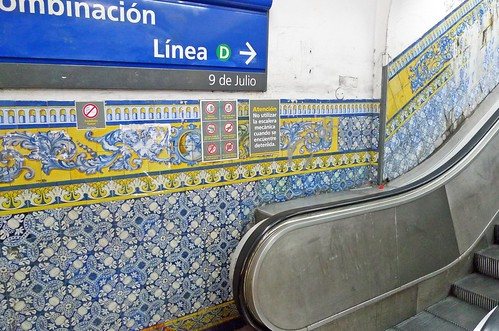 Subway Tiles, Buenos Aires | by Globe Trodden