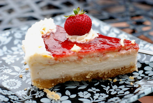 Stephanie's Strawberry Cheesecake | by swellvegan