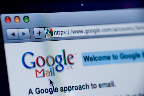 Google Mail website screenshot | by Spencer E Holtaway