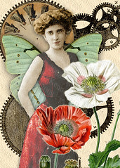 Sister Morphine Digital Collage - ACEO | by Resurrection Rags