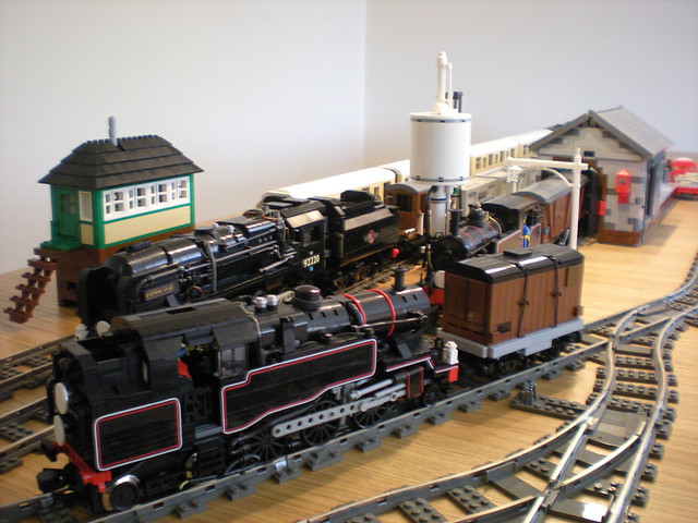 LEGO Train MOCs: Layouts and Dioramas | Flickr