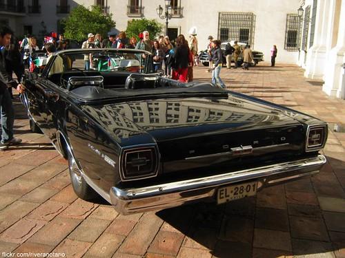 Ford Galaxie 1966 4.8 litros | Automóvil Presidencial Chile - Día del Patrimonio 2010