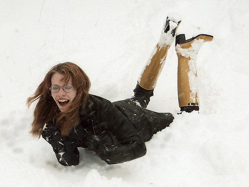 how to create artificial snowfall
