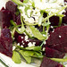 roasted beets, cumin and cotija salad