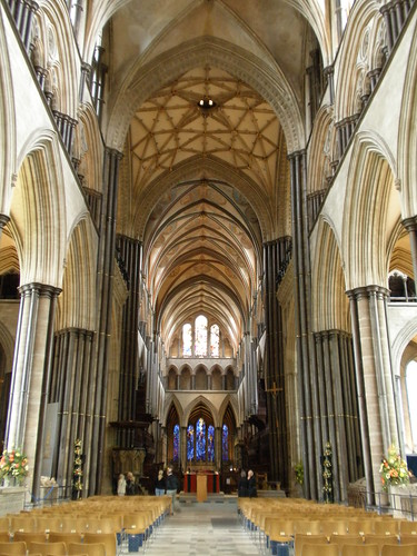 Salisbury Cathedral. Nave looking East. | Flickr - Photo ...