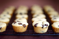 Mini chocolate chip pancake muffins | by Bakerella