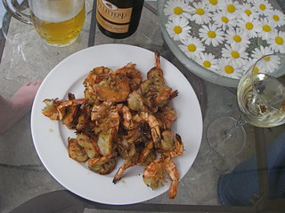 Grilled shrimp | by Blue Lotus