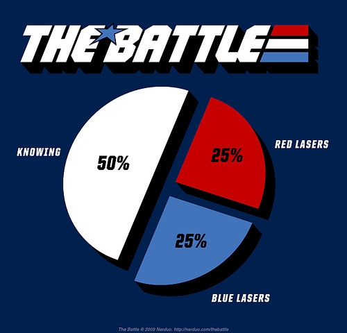 "What is ""Half The Battle"" according to GI Joe? 