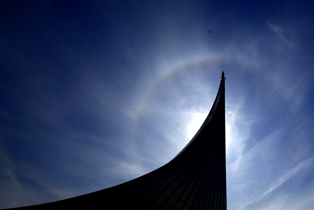 Halo over Moscow