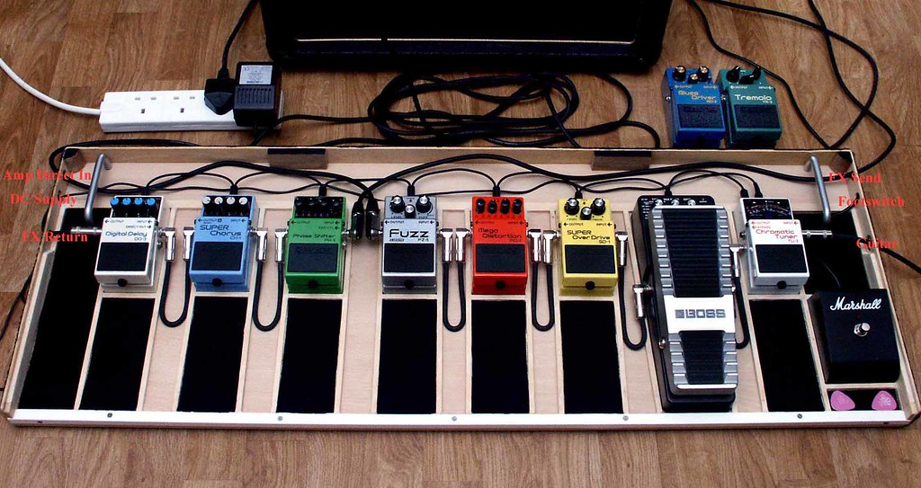 Guitar Pedals Guitar Pedal Board Pedals