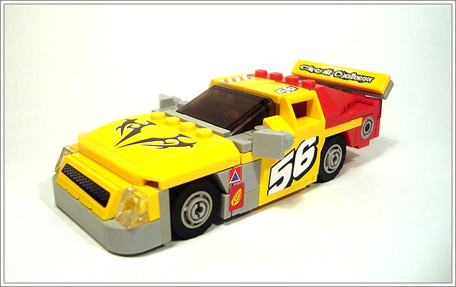 NASCAR Stop Motion 2011: LEGO 200 - YouTube
