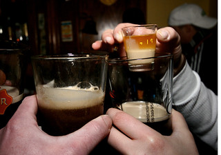 Mix 2/3 Guiness with 2/3 Jameson & 1/3 Baileys...Pull Trigger | by A. Strakey