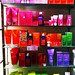 Weleda creams and lotions on shelves