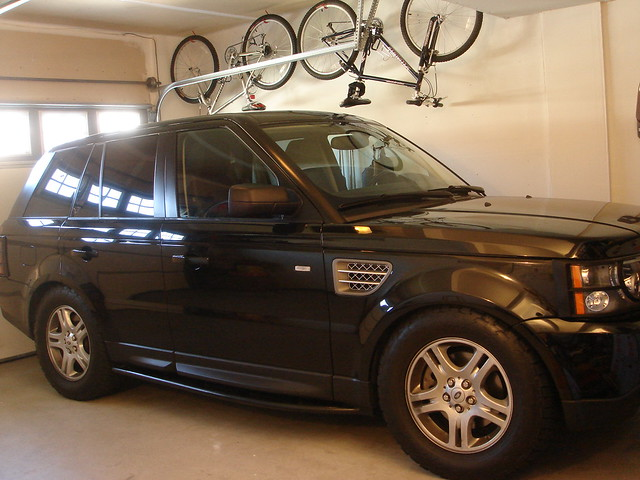 Lifting The Range Rover Sport
