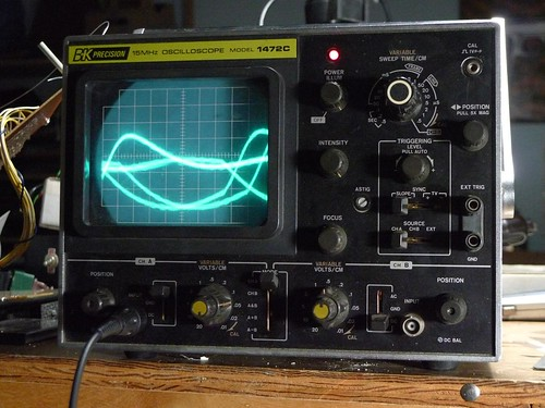 Oscilloscope sidewalk sale | by Collin Mel