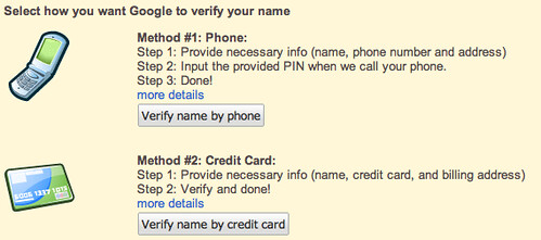 Verify Google Profile on Knol | by rustybrick