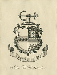 [Bookplate of John H.B. Latrobe] | by Pratt Institute Library