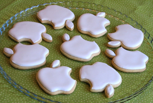 Apple Logo Cookies | by Whipped Bakeshop