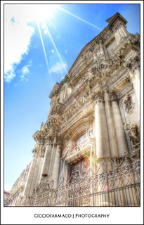 Catania - St. Benedetto Church in Crociferi street :: HDR | by ciccioetneo