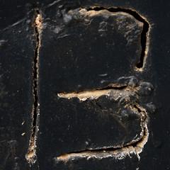 letter B by Leo Reynolds