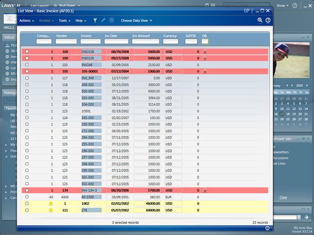 Lawson Software Screenshots   Flickr