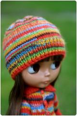 colourful beanie by megipupu