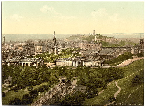 [Edinburgh from the castle, Scotland] (LOC) | by The Library of Congress